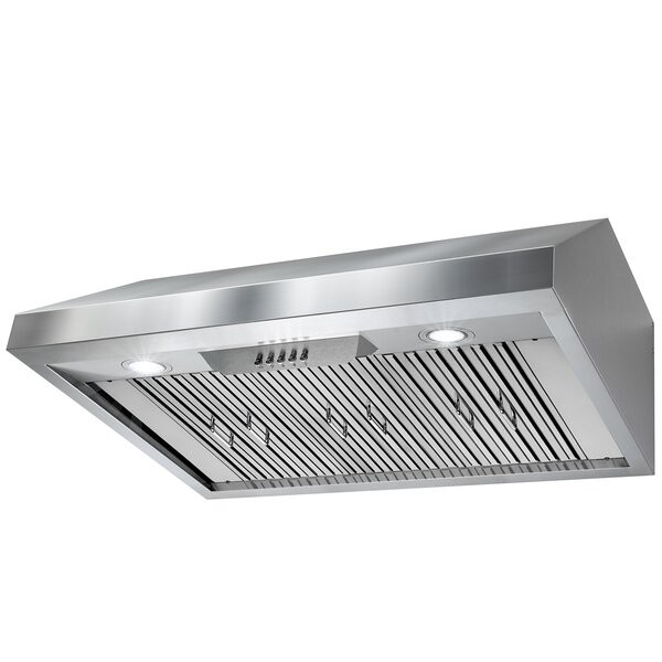 36 588 CFM Ducted Under Cabinet Range Hood by AKDY
