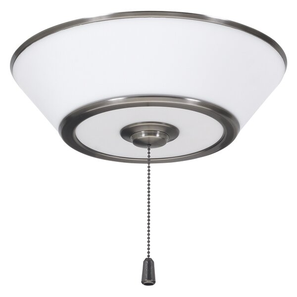 Modern 3-Light Bowl Ceiling Fan Light Kit by Brayden Studio