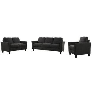 Lender 3 Piece Living Room Set by Red Barrel Studio®