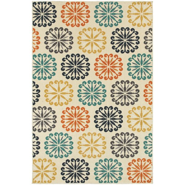 Brookline Ivory Area Rug by Threadbind