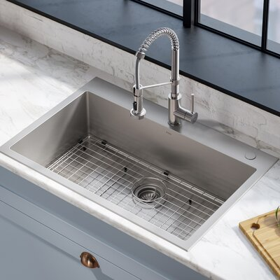 Vitreous China Rectangular Drop Bathroom Sink Overflow