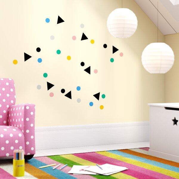 Ophelia Decorative Confetti Wall Sticker/Decal by Viv + Rae