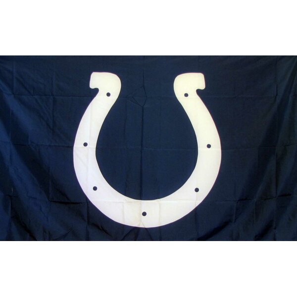 Indianapolis Colts Polyester 3 x 5 ft. Flag by NeoPlex