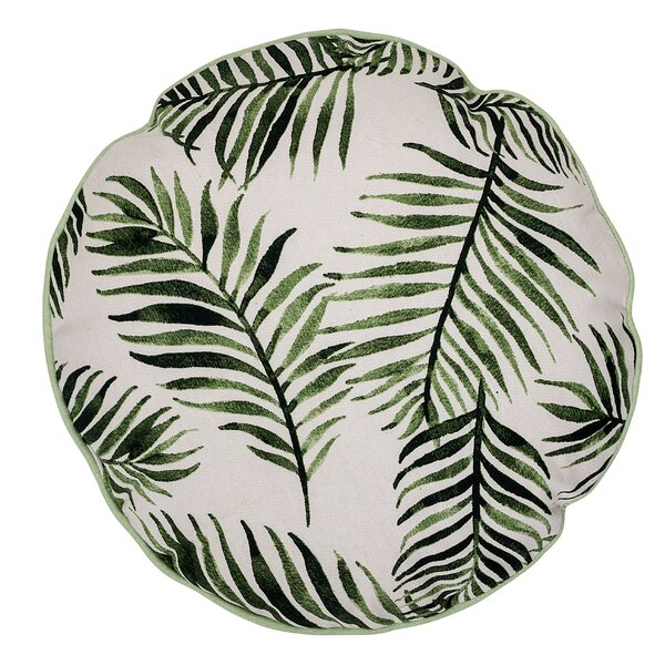Swift Botanical Cotton Throw Pillow by Bay Isle Home