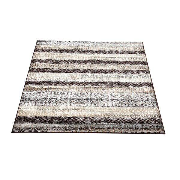Doreen Decorative Modern Contemporary Southwestern Beige/Brown Area Rug by Winston Porter