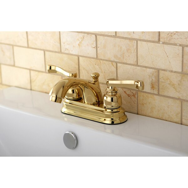 Royale Centerset Bathroom Faucet with Drain Assembly by Kingston Brass Kingston Brass