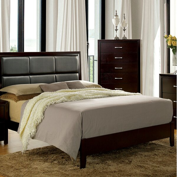 Huck Upholstered Standard Bed by Red Barrel Studio