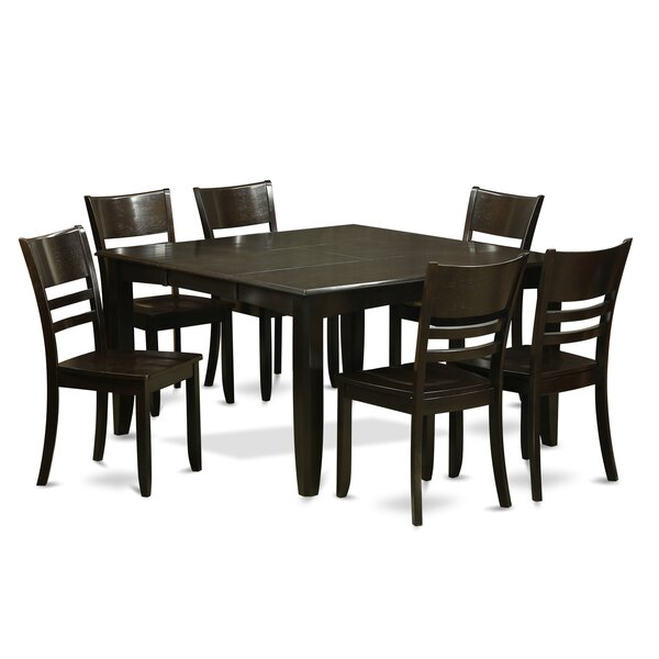 Parfait 7 Piece Dining Set By Wooden Importers by Wooden Importers Today Sale Only