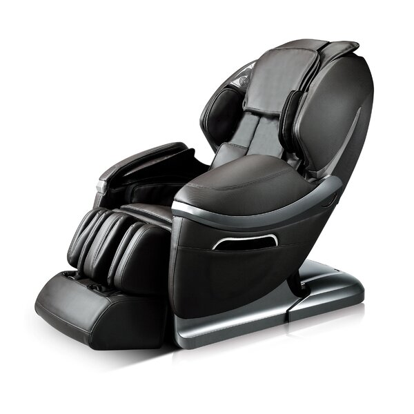 Review Reclining Adjustable Width Heated Massage Chair