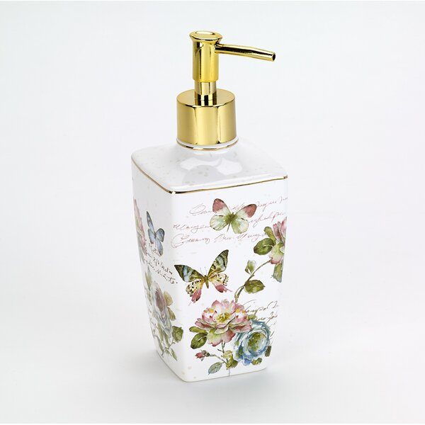 Butterfly Garden Soap & Lotion Dispenser by Avanti Linens