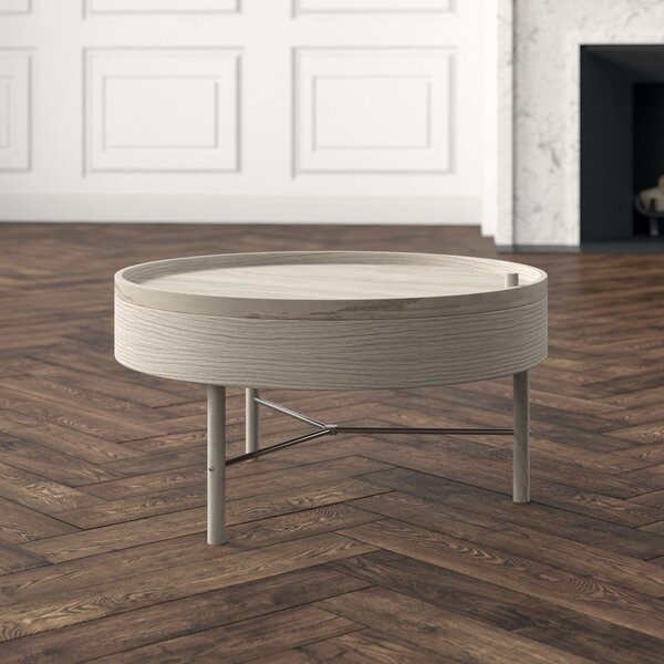 3 Legs Coffee Table With Storage By Menu