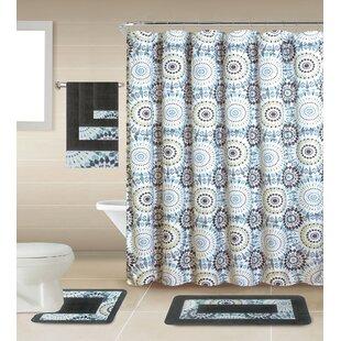 Check Prices Chrissie Shower Curtain Set ByLatitude Run