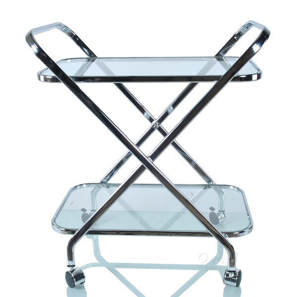 Anne X-Shape Bar Cart by Old Modern Handicrafts