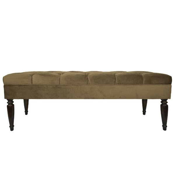 Zaniyah Upholstered Bench by Winston Porter