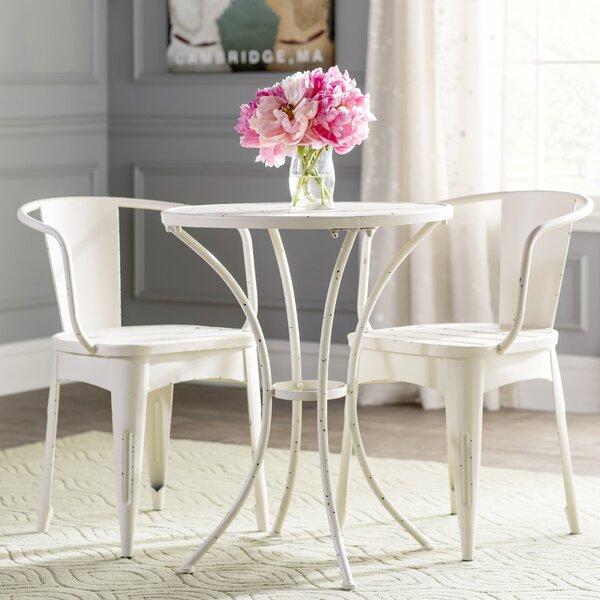 Kardos Indoor 3 Piece Dining Set by Ebern Designs