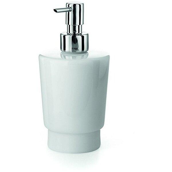 South Lamar Porcelain Pump Soap & Lotion Dispenser by Orren Ellis