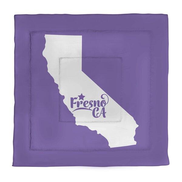 California Fresno Single Reversible Comforter