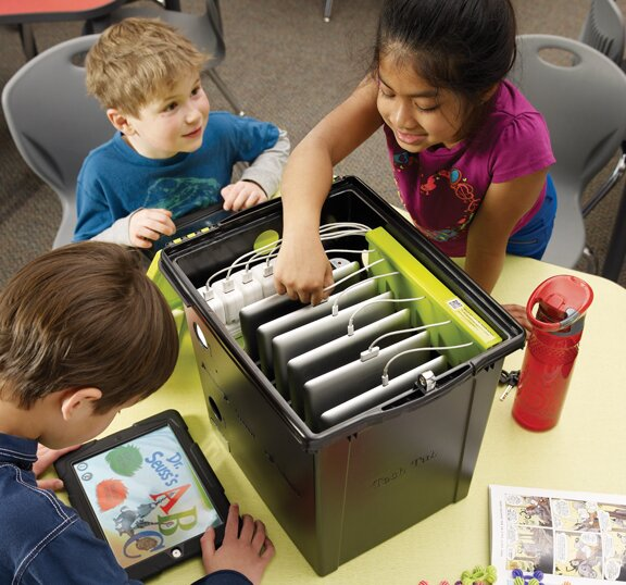 Tech Tub™ Tablet Storage Cart by Copernicus