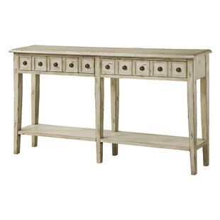 Paniagua 2 Drawer Antique Console Table