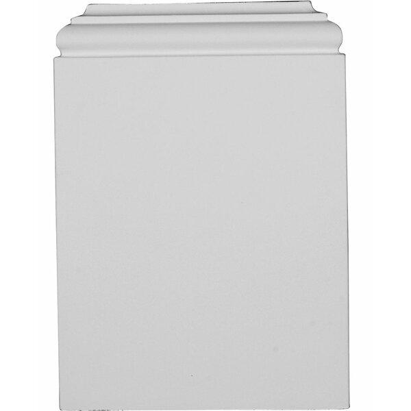 Traditional 10 1/4 H x 7 3/8 W x 1 7/8 D Plinth Block by Ekena Millwork