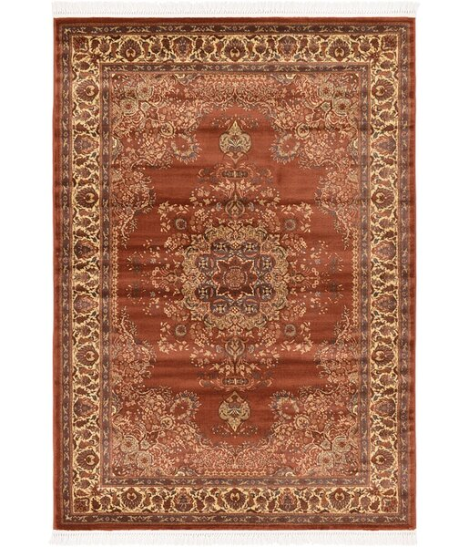 Britain Brown Area Rug by World Menagerie