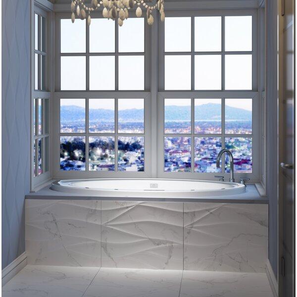 Riva Right-Hand 66 L x 38 W Drop In Whirlpool Bathtub by Jacuzzi®