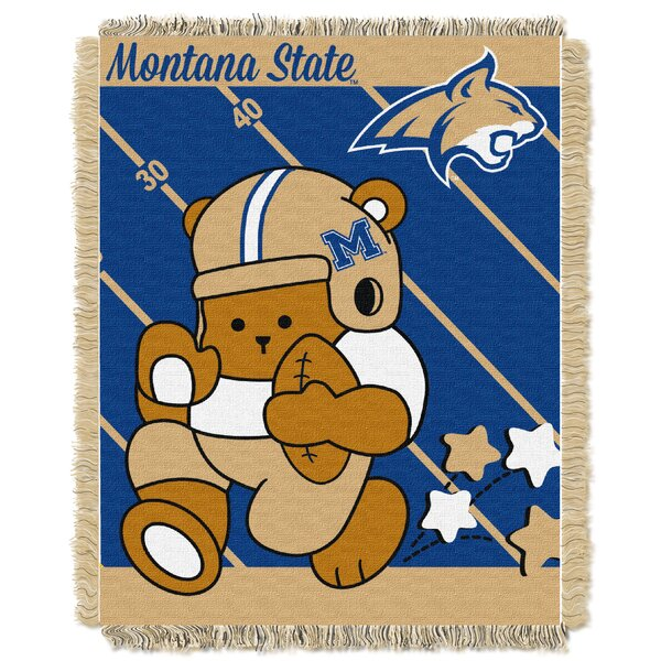 Collegiate Montana State Baby Blanket by Northwest Co.