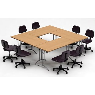 Rectangular Inch Conference Table Wayfair - Square meeting table