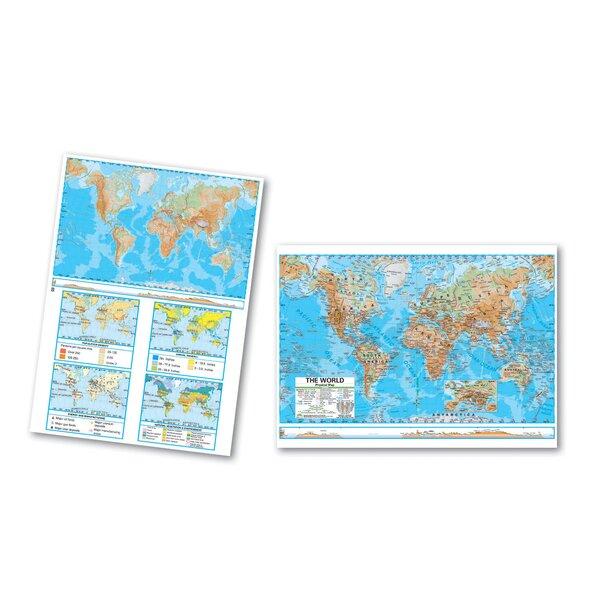 Advanced Physical Deskpad - World by Universal Map