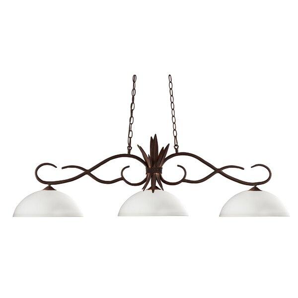 Beehler 3-Light Pool Table Light by Fleur De Lis Living