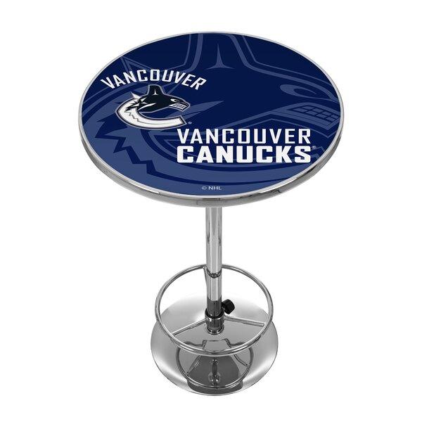 NHL Watermark Pub Table by Trademark Global
