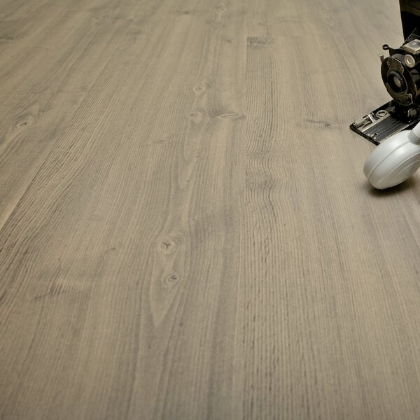 6 x 48 x 12.33mm  Laminate Flooring in Sterling Walnut (Set of 22) by Serradon