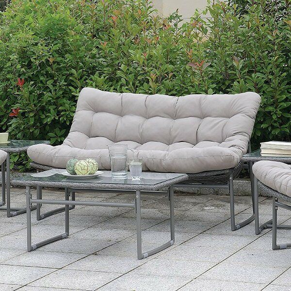 Cermenho Loveseat With Cushions By Ivy Bronx