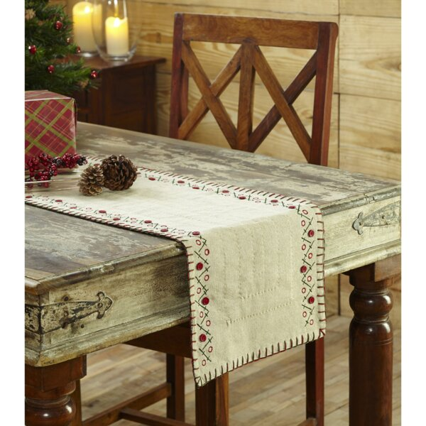 Tidings Table Runner by The Holiday Aisle