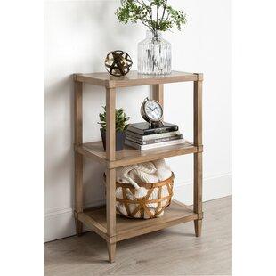 Gretchen Free-Standing Wooden Standard Bookcase Breakwater Bay