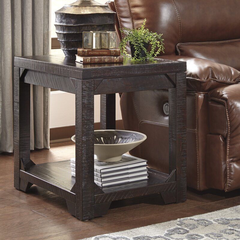 living room end table.  Rectangle End Side Tables You ll Love Wayfair