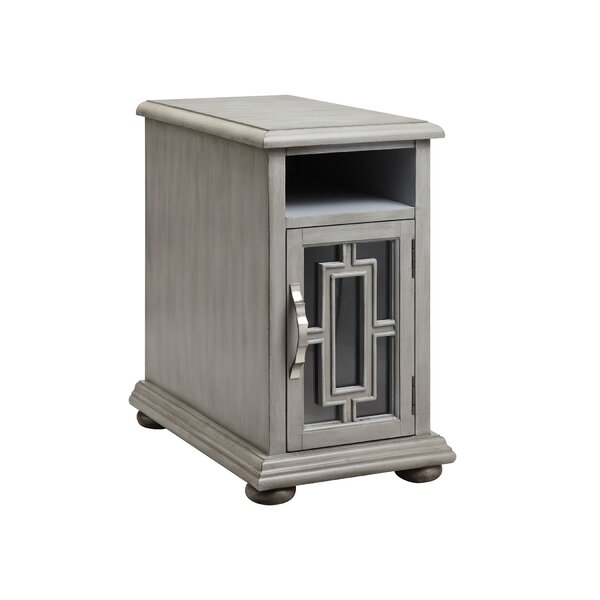 Broadhurst End Table With Storage By World Menagerie
