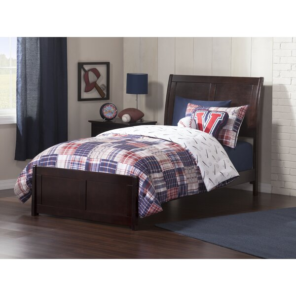 Quitaque Twin Panel Bed by Harriet Bee