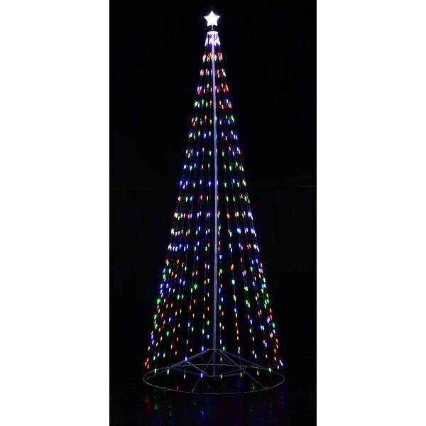 Outdoor LED Cone Tree by Homebrite Solar