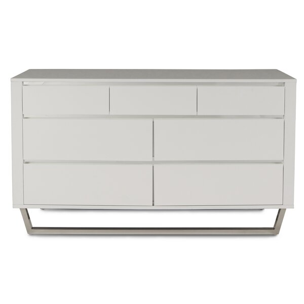 Principato 3 Drawer Double Dresser by Brayden Studio