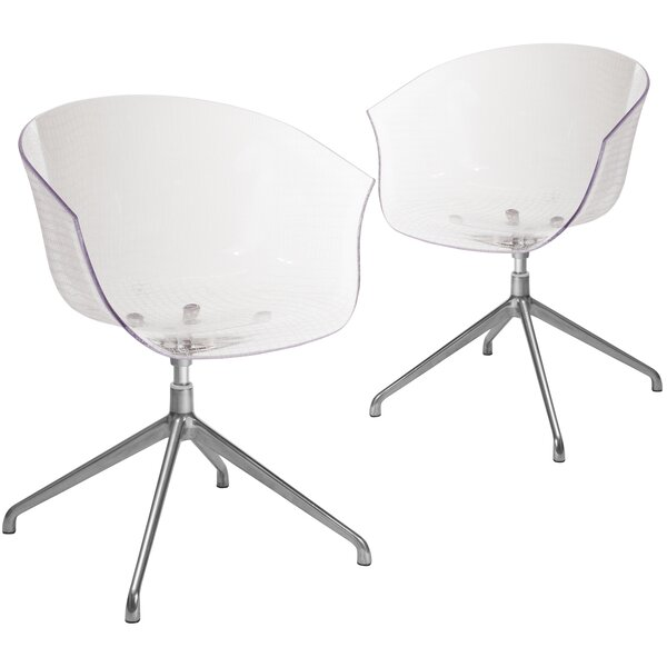 Mcmillion Contemporary Guest Chair (Set of 2) by Latitude Run