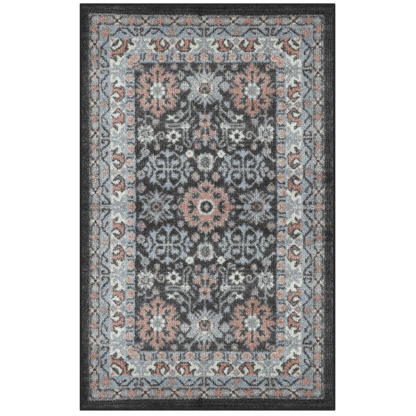 Oloran Blue/Gray Area Rug by World Menagerie