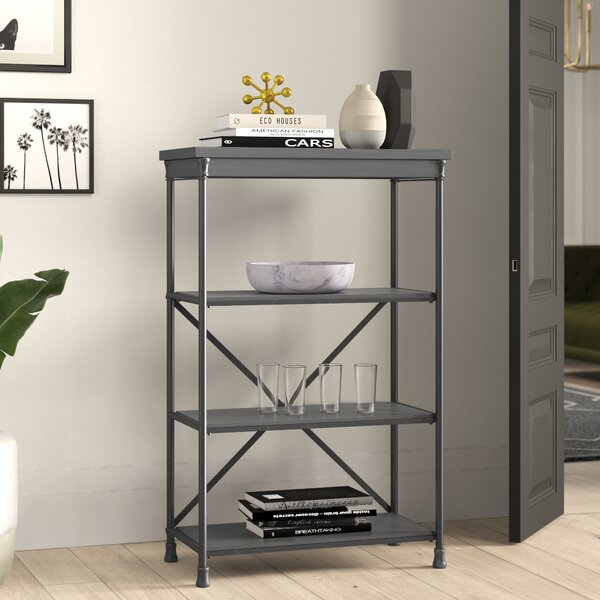 Lawrence Etagere Bookcase By Mercury Row