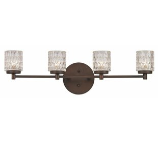 Reviews Duff 4-Light Vanity Light By House of Hampton