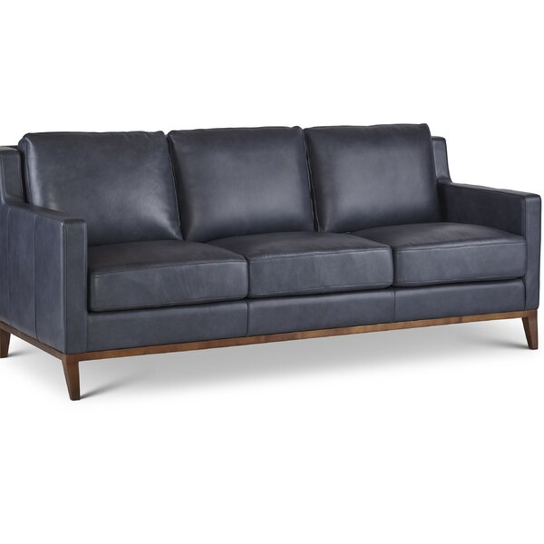 Lena Leather Sofa by Modern Rustic Interiors