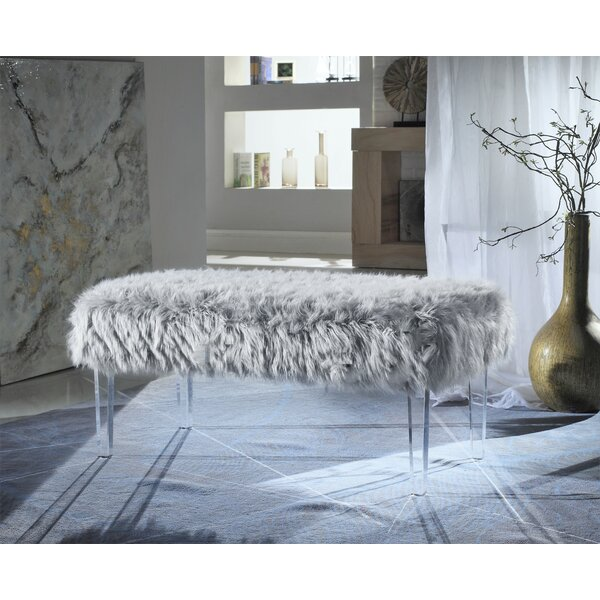 Caddington Upholstered Bench By House Of Hampton by House of Hampton Best Choices