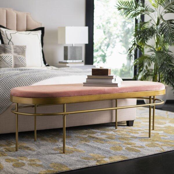 Rainn Upholstered Bench By Mercer41