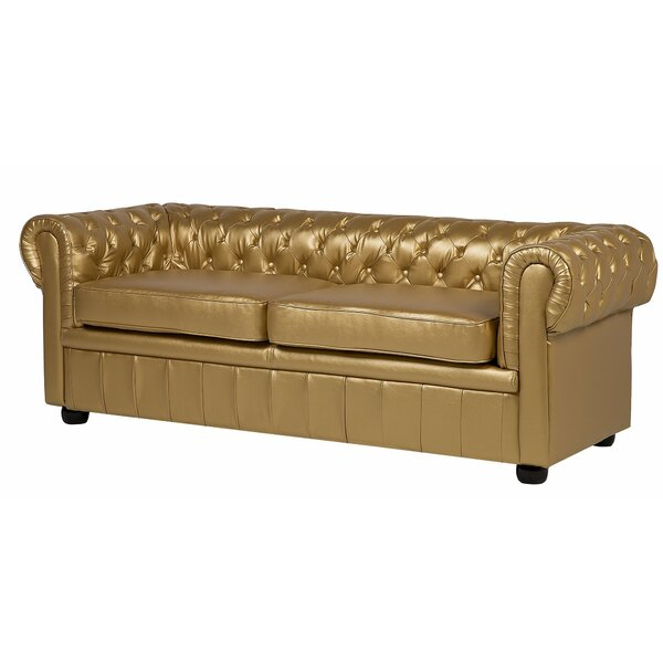 Meeks 3 Seater Chesterfield Sofa By Rosdorf Park