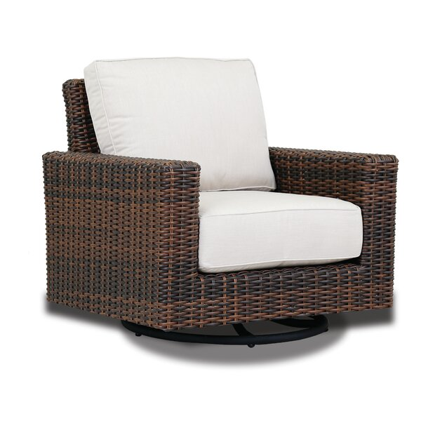 Montecito Swivel Rocker Patio Chair with Sunbrella Cushions by Sunset West Sunset West