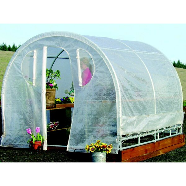 Weatherguard 8 Ft. W x 12 Ft. D Commercial Greenhouse by Jewett Cameron